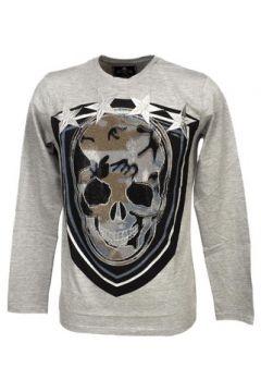 T-shirt Hite Couture Murlit grey mel ml tee(127855711)