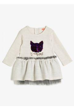 Koton Kız Çocuk Pul Detayli Elbise(117895744)