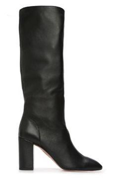 Aquazzura Kadın Siyah Deri Çizme 36 EU(120498235)