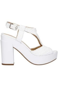 Sandales Lazzari Felici 2754 santal Femme blanc(127907748)