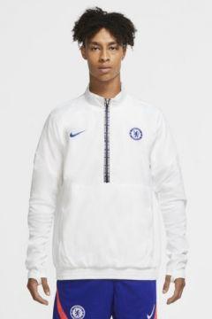 Chelsea FC Yarım Fermuarlı Erkek Ceketi(118345852)