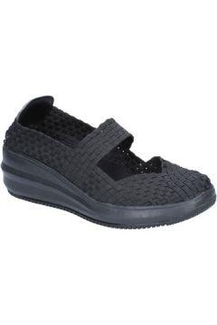 Chaussures Cristin ballerines noir textile BX631(115442603)
