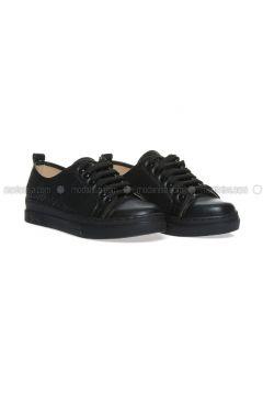Black - Casual - Shoes - Ayakkabı Havuzu(110322039)