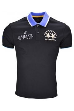 Polo La Martina Polo Maserati noir pour homme(115390589)