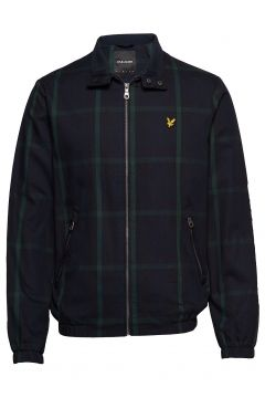 Tartan Harrington Dünne Jacke Blau LYLE & SCOTT(114156070)