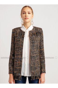 Brown - Multi - Jacket - NG Style(110341168)
