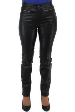 Chinots Pallas Cuir Pantalon sélection en cuir ref_sof40265-noir(101589332)