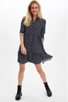DeFacto Kadın Desenli Dokuma Elbise(119062559)