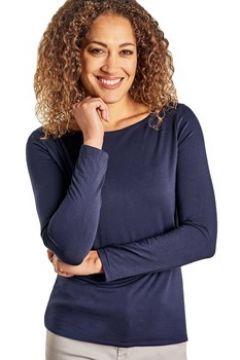 T-shirt Woolovers T-shirt encolure bateau à manches longues Femme Jersey(115541297)