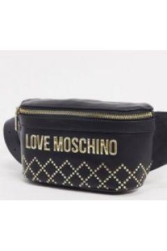 Love Moschino - Marsupio con borchie e logo nero(120399122)