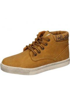 Chaussures enfant Blaike sneakers jaune cuir AD702(115393765)