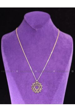 Gold - Necklace - By Geda(110313917)