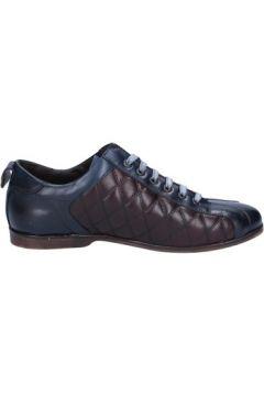 Chaussures Evc élégantes bordeaux cuir bleu BX611(98484020)