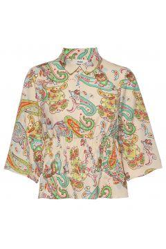 Neo Paisley Bornella Blouses Short-sleeved Bunt/gemustert MADS NØRGAARD(114154182)