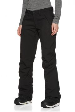 Pantalons pour Snowboard Femme Burton Society - True Black(111322884)