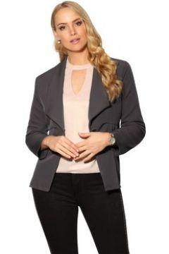 Veste Krisp Blazer Femme Revers Mode Chic Travail Bureau Habillé(127994661)