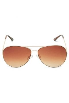 SELECTED Klassiska - Solglasögon Kvinna Guld(109206016)