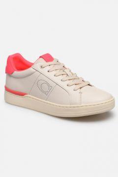Coach - Adb Leather Low Top - Sneaker für Damen / weiß(111610216)