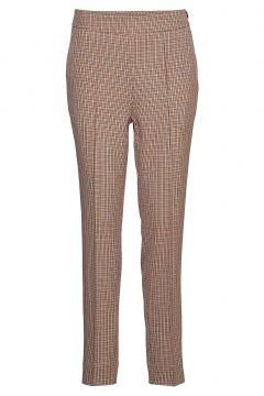 Lena Hw Trousers Hose Mit Geraden Beinen Braun SECOND FEMALE(108574009)