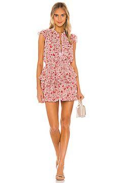 Мини платье marnie - MISA Los Angeles(115072290)