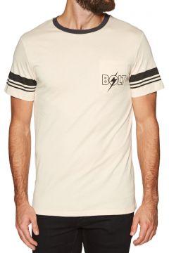 Lightning Bolt Bolt Ringer Pocket Kurzarm-T-Shirt - Fog(100273975)