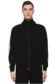 Isabel Marant Erkek Danily Siyah Reglan Kollu Şerit Detaylı Sweatshirt S EU(109265331)