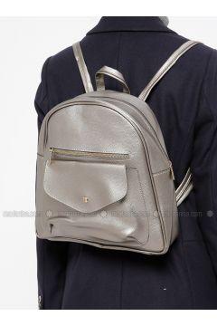 Gray - Backpacks - Vip Moda(110318676)