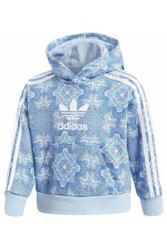 Sweat-shirt enfant adidas CC FELPA CON CAPPUCCIO CELESTE(115506800)