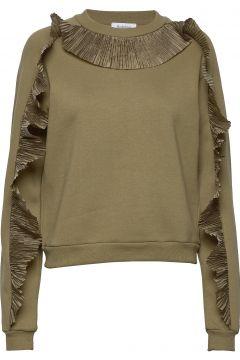 Rodebjer Graciosa Sweat-shirt Pullover Grün RODEBJER(116611428)