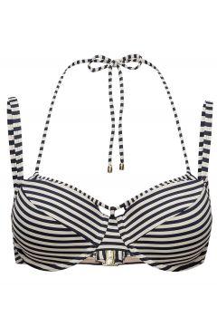 Md Holi Vintage Padd.Balc. Bikini Top Bikinioberteil Blau MARLIES DEKKERS(109111939)