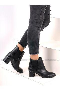 Black - Boot - Boots - Pembe Potin(110313774)