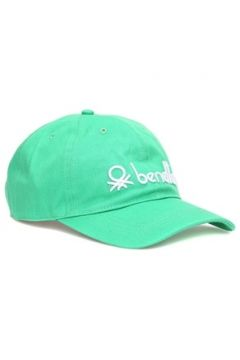 Benetton Erkek Yeşil Logo Nakışlı Şapka EU(116595507)