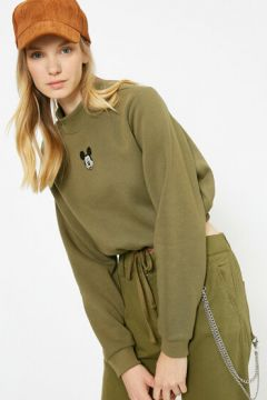 Koton Kadın Mickey Mouse Lisansli Baskili Sweatshirt(117383947)