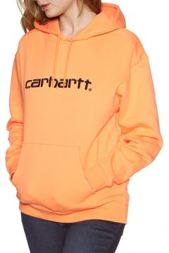 Pullover à Capuche Femme Carhartt Sweat - Pop Orange Black(111332695)