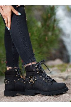 Black - Boot - Boots - Deripabuç(110313450)
