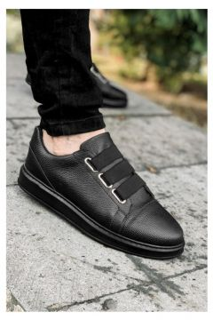 MODA Ortopedik Erkek Full Siyah Spor Ayakkabı(110952127)
