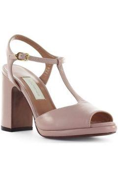 Sandales L\'autre Chose Sandale En Cuir Rose Poudré(101594439)