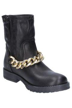 Bottines enfant Holalà bottines noir cuir AC34(115393567)