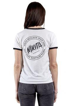 Nikita Dusk Ringer OG T-Shirt wit(114623022)