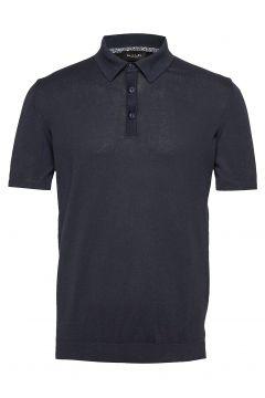 5419 - Rico Polo Polos Short-sleeved Blau SAND(109013481)