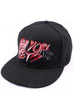 Casquette Hip Hop Honour Casquette NY fitted noire et rouge(115396354)