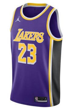 LeBron James Lakers Statement Edition 2020 Jordan NBA Swingman Forma(123463308)