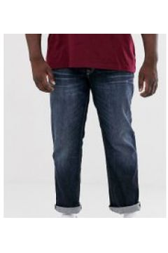 Jack & Jones Intelligence - Gerade geschnittene Jeans in dunkler Waschung - Blau(94962280)