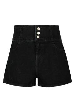 High Waist Denim Shorts(111016597)