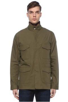 Herschel Erkek Training Uniform Yeşil Dik Yaka Mont S EU(125149411)