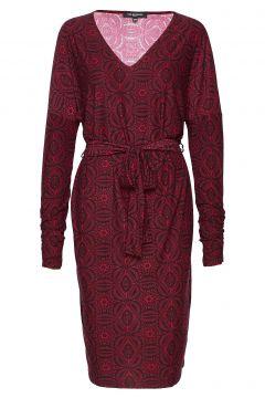 Dress Kleid Knielang Rot ILSE JACOBSEN(114163853)