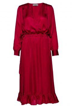 Chita Dress Kleid Knielang Rot MOS MOSH(114164382)