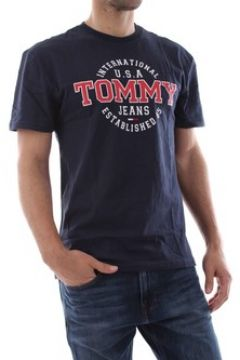 T-shirt Tommy Jeans DM0DM05906 CIRCULAR TEE(115628647)