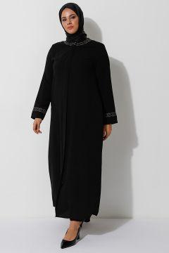 Abaya Grande Taille TEKBİR Noir(125450310)