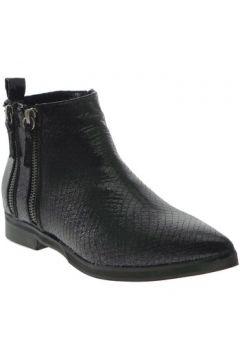 Boots Francescomilano - Tronchetto nero ecopelle gomma K096S(101788173)